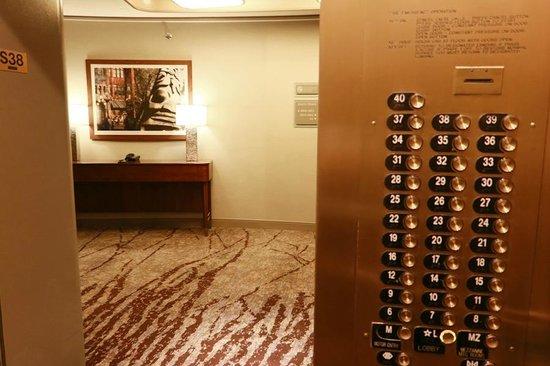 Elevator Picture Of The Westin Seattle Seattle Tripadvisor