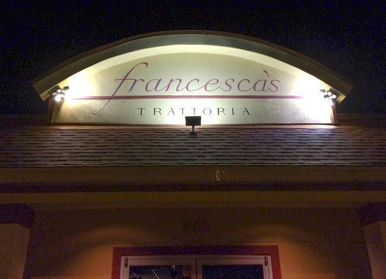 Francesca's Trattoria : Outside looks plain, but classy inside
