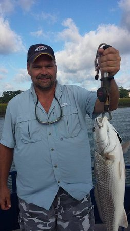 Catch-1 Charters - Capt. Shannon's Fishing Charters: Mike's Red