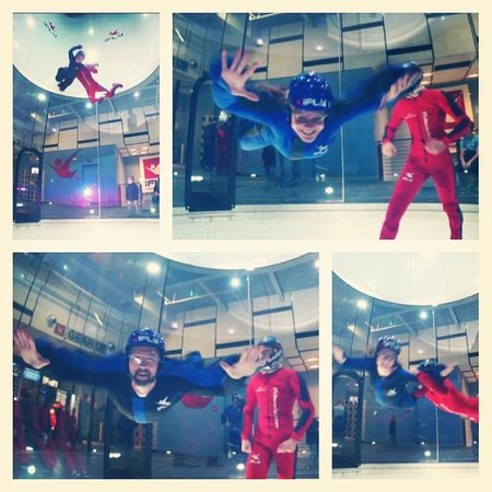 iFLY Indoor Skydiving : Family Fun Day!