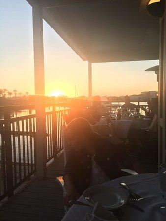 Louisiana Lagniappe: Sunset dinner