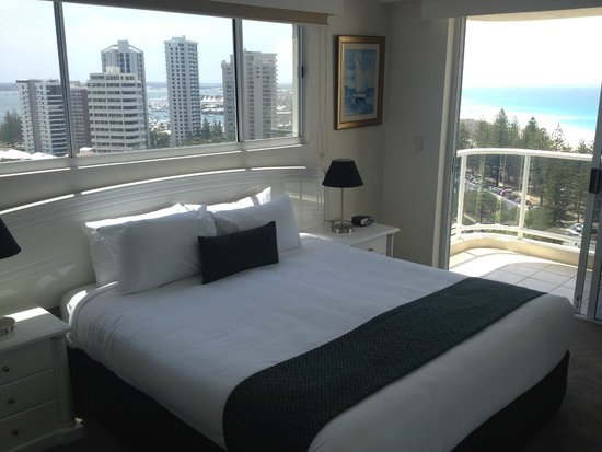 Xanadu Holiday Resort: Bedroom with a gorgeous view