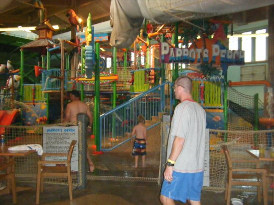 Cherry Valley Lodge : A view inside Coco Key of the large play area