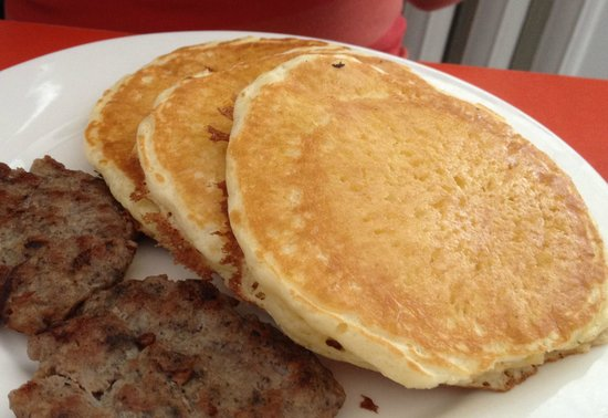 Image result for pancakes and sausage