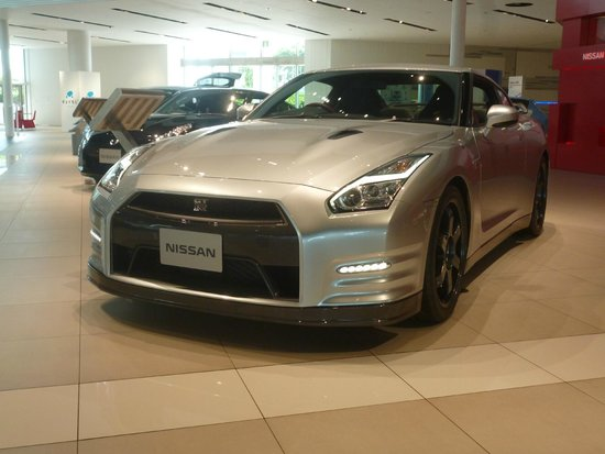 nissan gtr picture of nissan global headquarters gallery yokohama tripadvisor. Black Bedroom Furniture Sets. Home Design Ideas