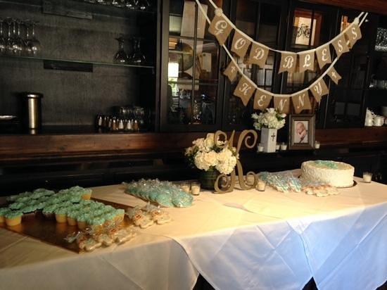 Yardley Inn: Perfect christening!