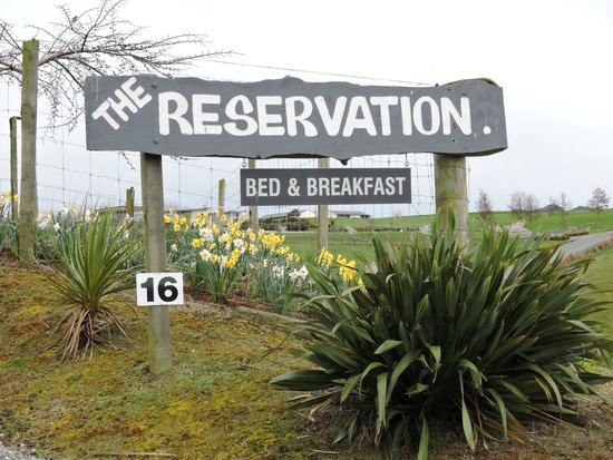 The Reservation B & B : Welcome
