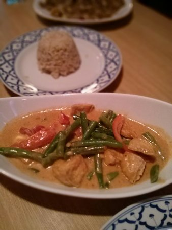 Panang Curry at Thai Basil by Amy (sooooo good)