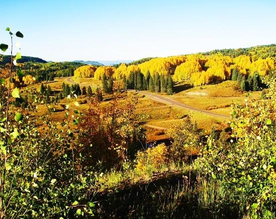 Antonito, CO: Cumbres Pass in the Fall