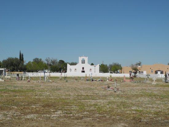 El Paso Mission Trail: Socorro Mission Cemetary