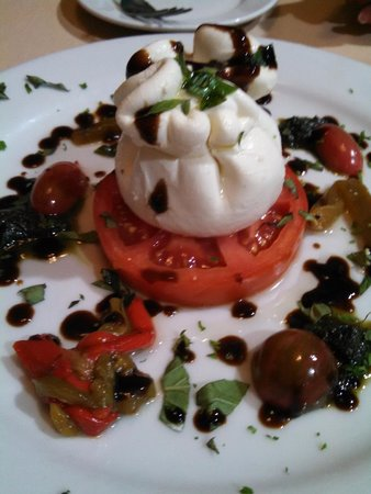 La Verona: the incredible house-made burrata - the essence of dairy freshness