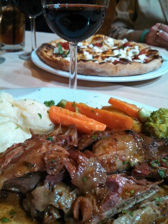 La Verona: braised pork cheek - unctuous, balanced, melt-in-your-mouth tender