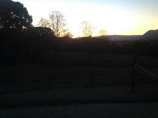 Bellingen Valley Lodge : Sun set
