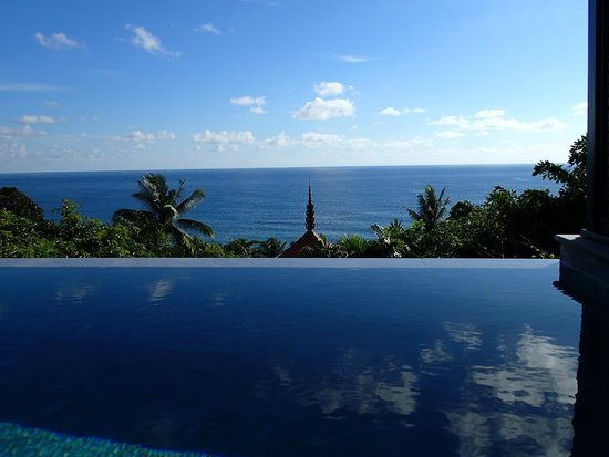 Trisara: View from our private pool deck