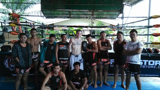 Tiger Muay Thai - Day Classes: Tiger Muay Thai & I, Sept 2014