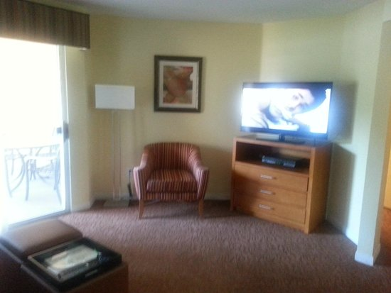 Desert Paradise Resort: Sitting Room/Living Room
