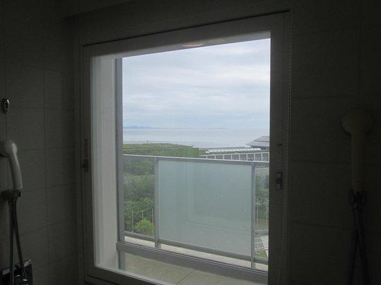The Westin Awaji Island Resort & Conference Center: 海を見ながらのバスタイムは快適です
