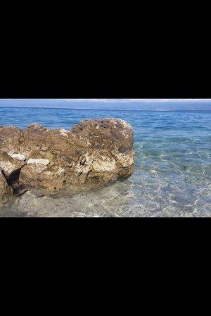 Hotel Pinia: Der Ausblick zum Meer!