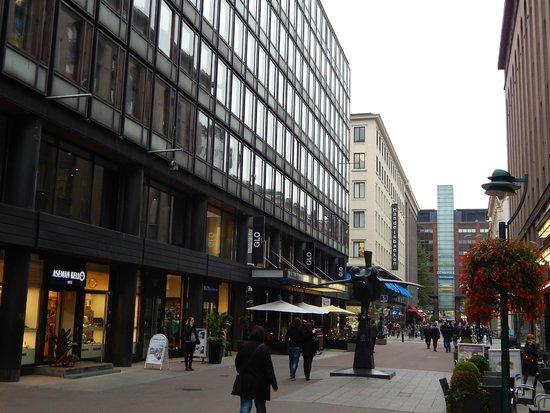 GLO Hotel Kluuvi Helsinki : Aussenansicht