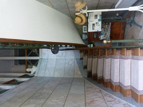 Cult, France: la montée d'escalier
