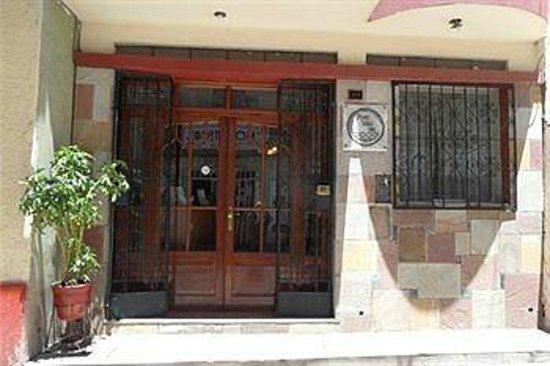 Tayka Hostel: Центральный вход