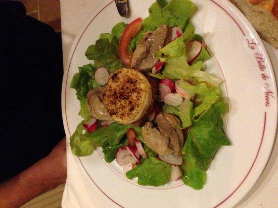 Restaurant La Botte de Nevers: Salade de caille