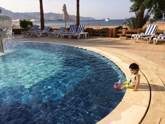 InterContinental Aqaba Resort: بركه الاطفال