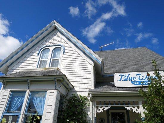 Blue Winds Tea Room: 外観
