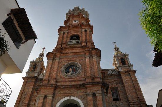La Iglesia de Nuestra Senora de Guadalupe: Red brick is so catchy