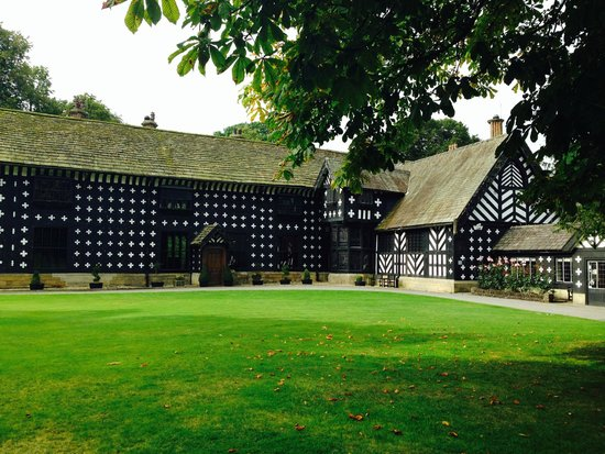 Samlesbury Hall: Front Of Hall...