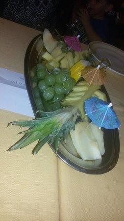 La Baita del Belvedere: Frutta