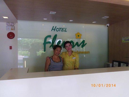 Hotel Fleuris : reception