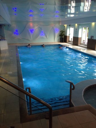 Hotel pool jacuzzi steam room and sauna picture of - Hotels with swimming pools cornwall ...