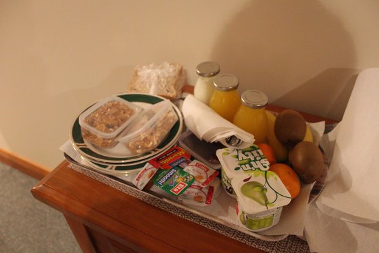Waikene Lodge: breakfast