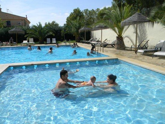 Ribamar Camping y Bungalows : Pool