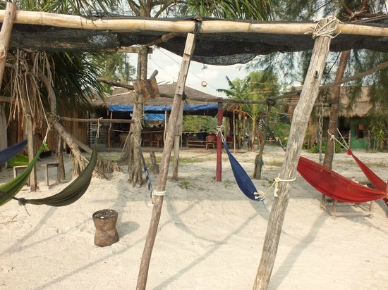 castaways beach bar  u0026 bungalows  our hammock area    well these our hammock area    well these aren u0027t all our hammocks  covered      rh   tripadvisor