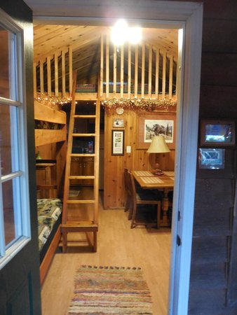 Rim Rock's Dogwood Cabins: Welcome to the Bear's Den!