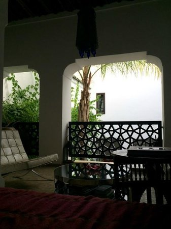 P'tit Habibi : View from White Room day bed