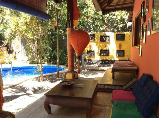 Kubu Pilatus Inn: Cosy places to sit