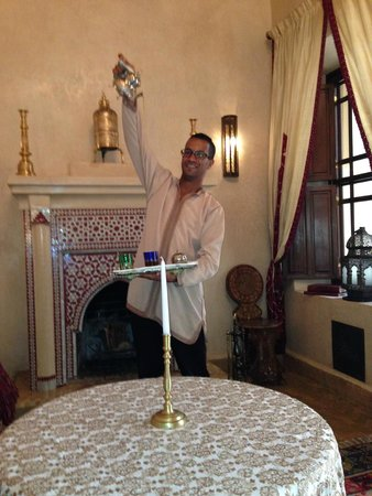 Riad Kniza : 'Amin' Keeping up my supply of Mint Tea : )