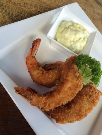 Rosemary Restaurant & Bar : Prawns