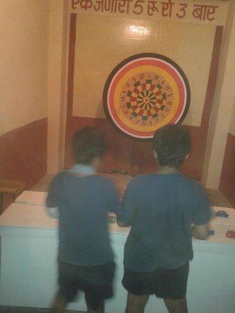 Dart Game Picture Of Kalagram Chokhi Dhani Jaipur Tripadvisor