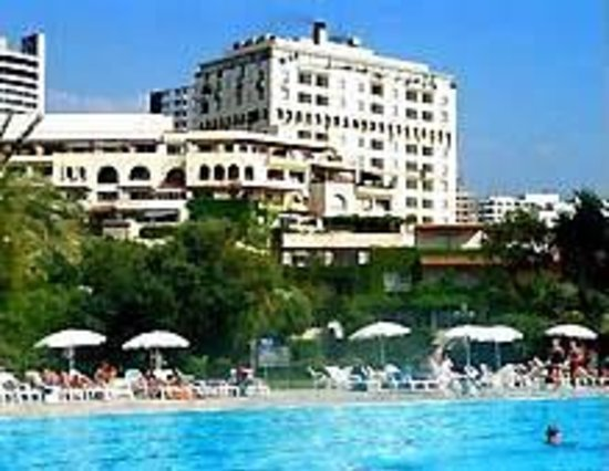 Portemilio Hotel And Resort: View from the pool