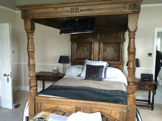 Wollaston Lodge Bed & Breakfast: The most comfortable bed!