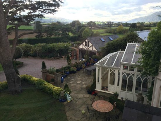 Wollaston Lodge Bed & Breakfast: View from our bedroom