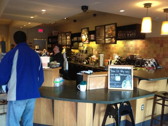 Roseland, NJ: Starbucks store - inside
