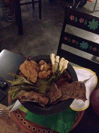 La Mexicana: tender and succulent meat