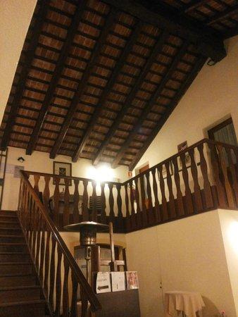 San Nicolo, Italia: Travi a vista