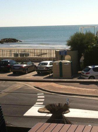 Hotel Restaurant Le Grand Large: vue de la chambre