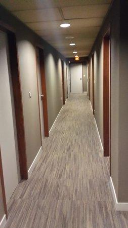 Hotel du Moulin: Couloir